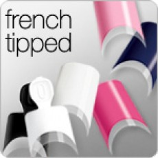 DIVA FRENCH TIPPED TIPS
